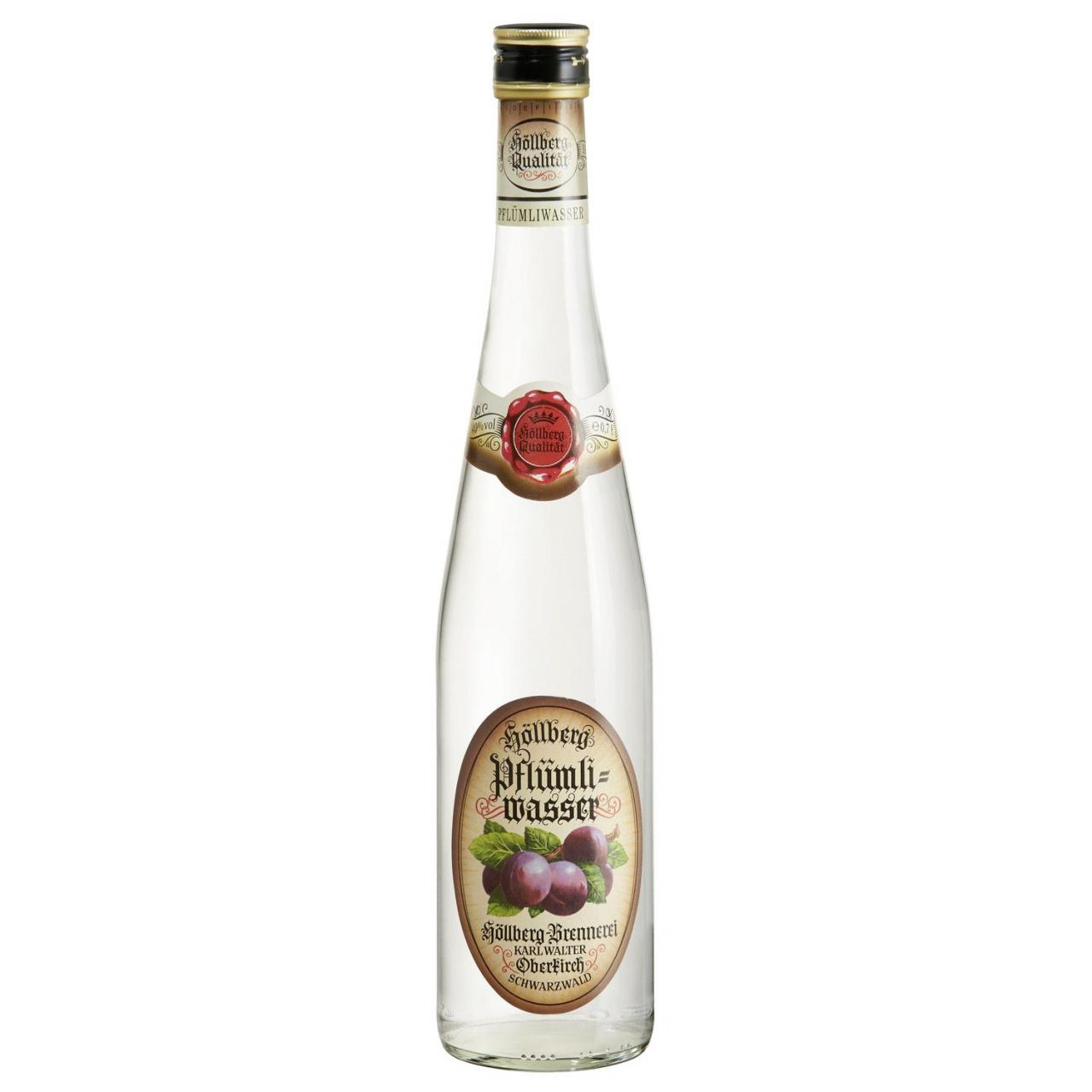 0,7 Liter Flasche Höllberg Pflümliwasser