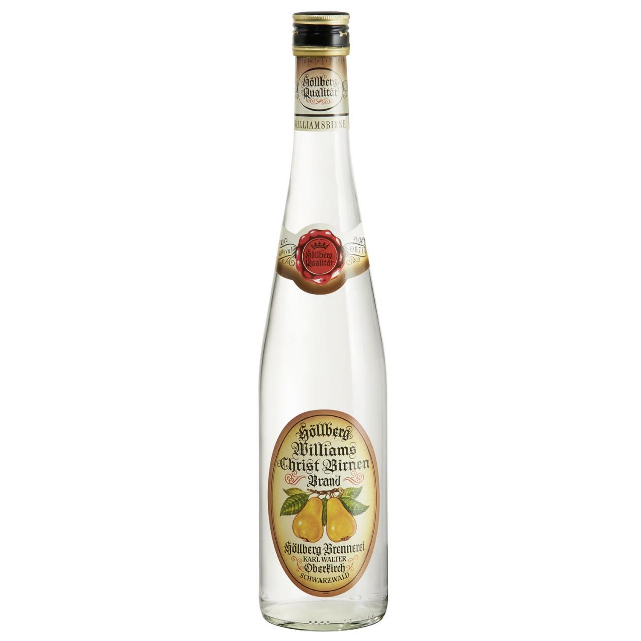 0,7 Liter Flasche Höllberg Williams-Brand
