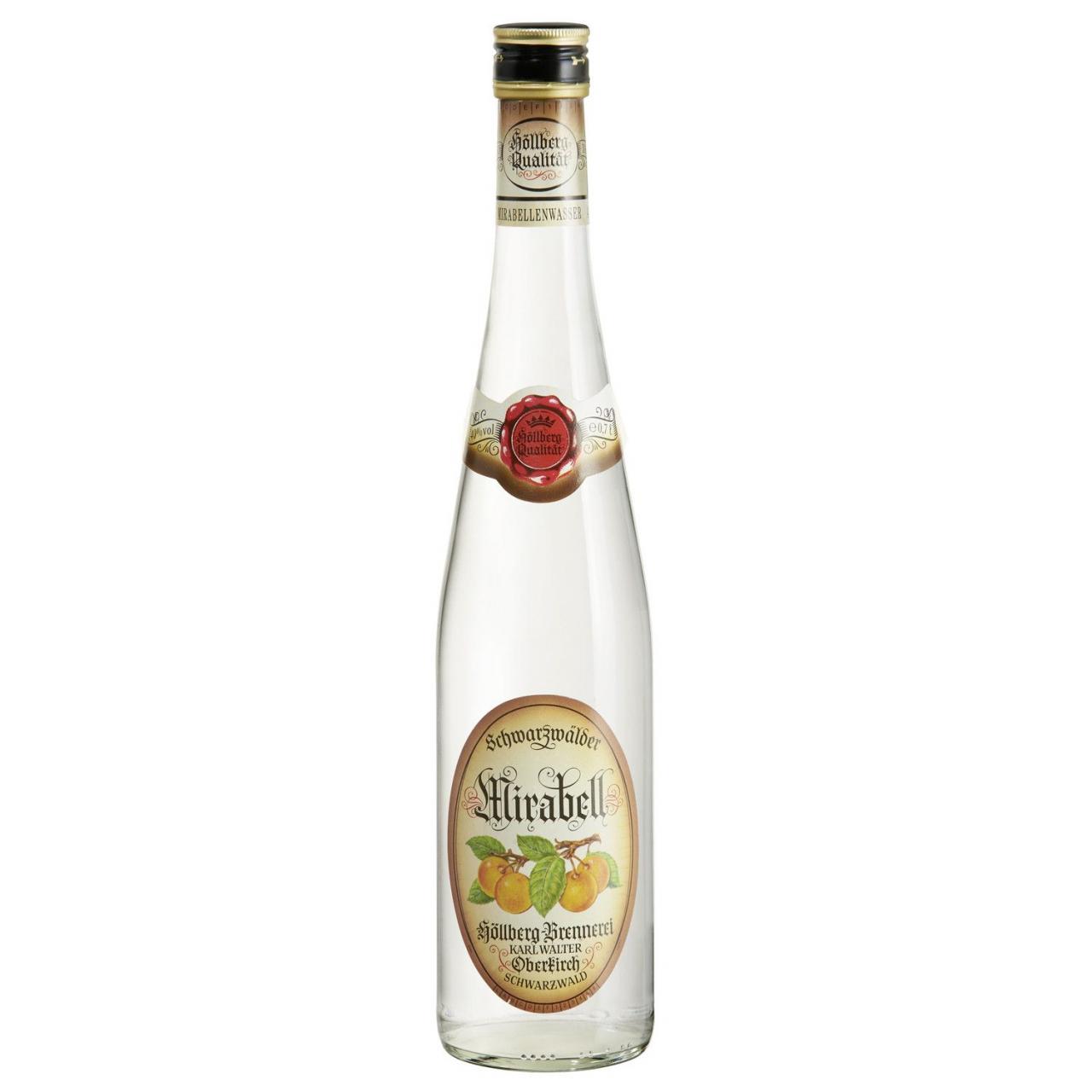 0,7 Liter Höllberg Mirabellenwasser