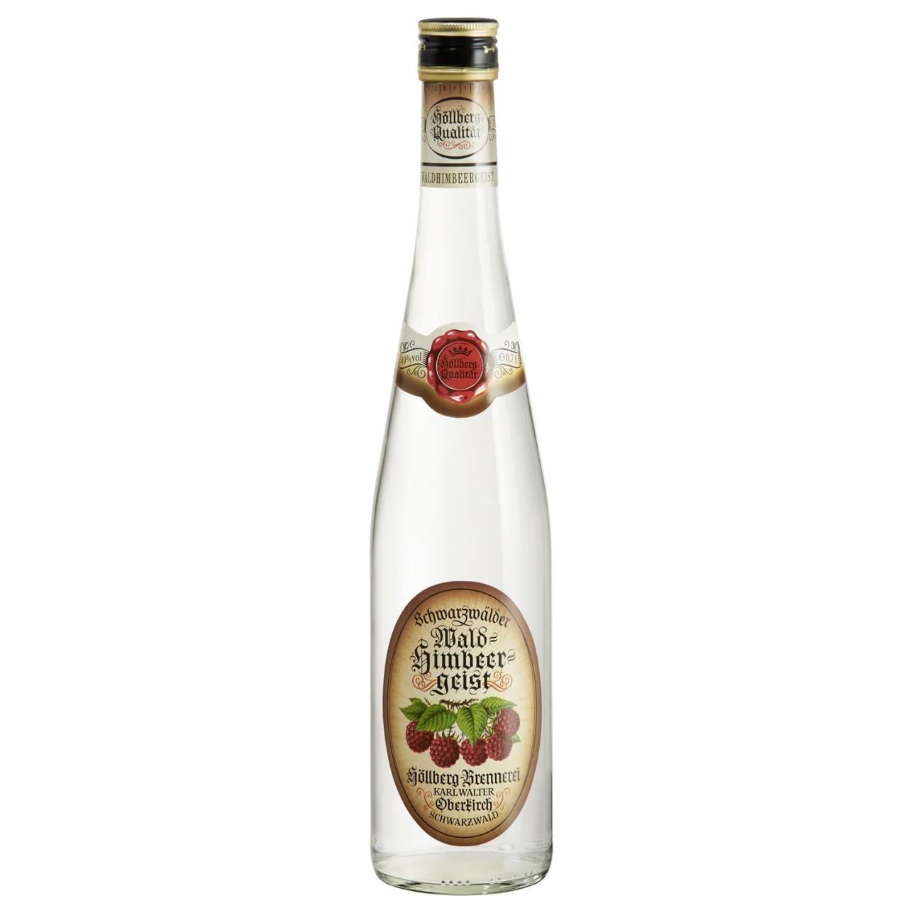 0,7 Liter Flasche Höllberg Waldhimbeergeist