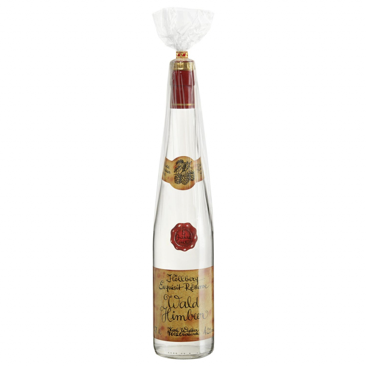 0,7 Liter Flasche Höllberg Exquisit Réserve Wald Himbeere