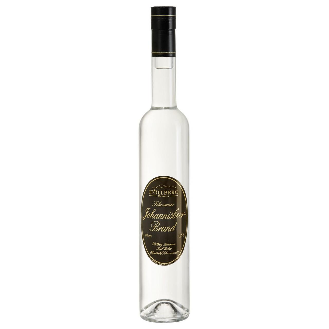 0,5 Liter Flasche Höllnberg Schwarze Johannisbeere