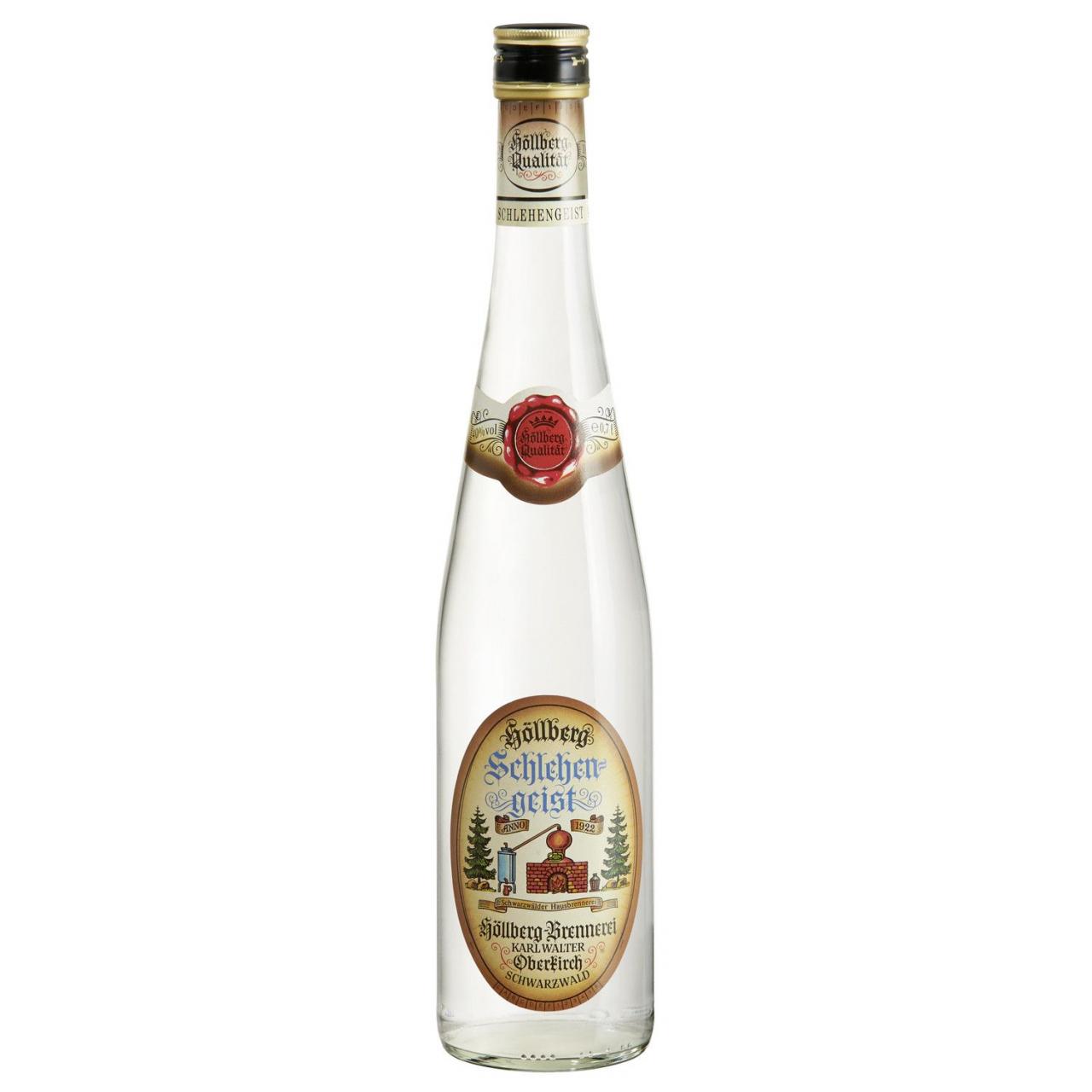 Höllberg Schlehengeist in der 0,7 Liter Flasche