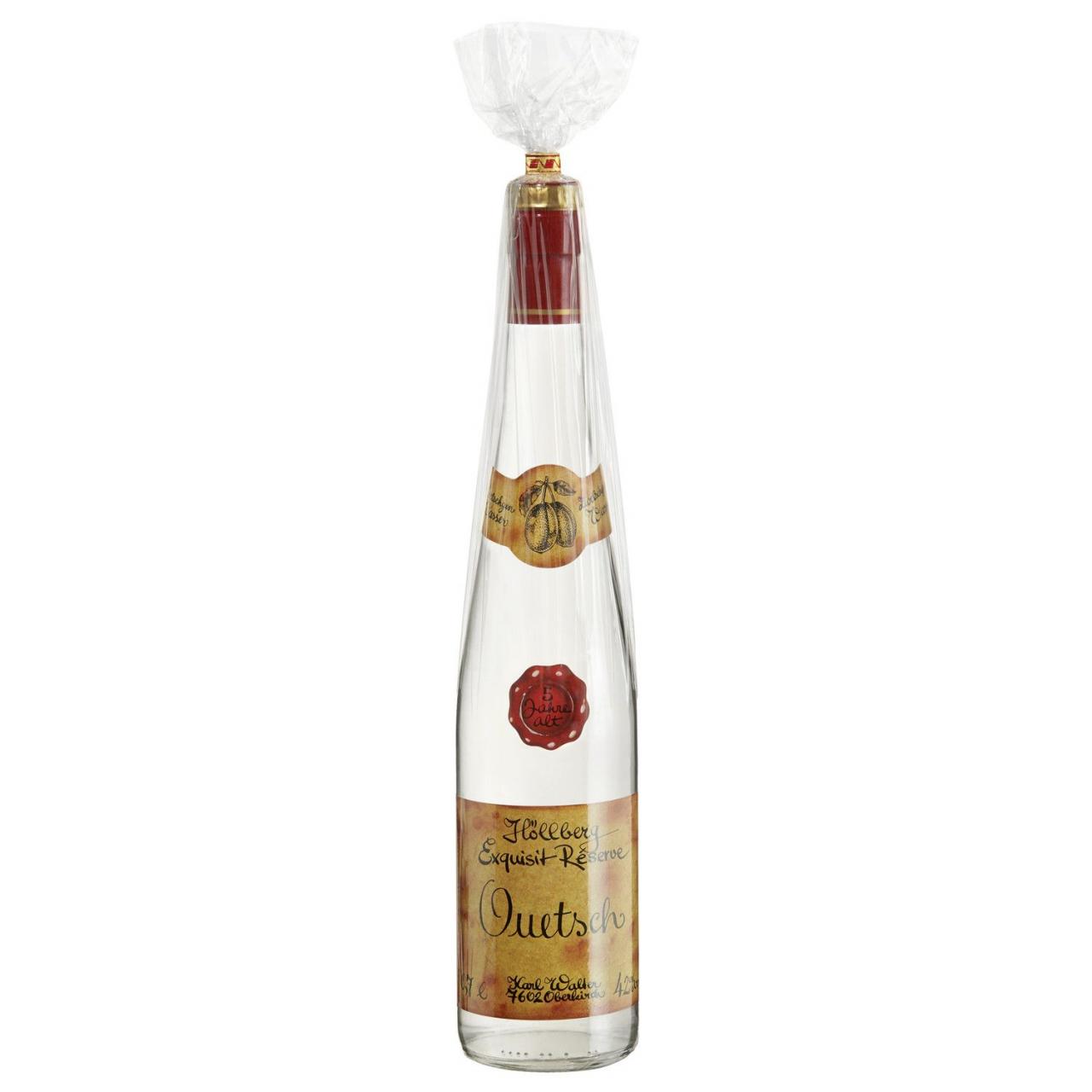 0,7 Liter Flasche Höllberg Exklusiv Réserve Quetsch